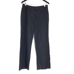 Lafayette 148 Black Wool Work Trouser Dress Pants